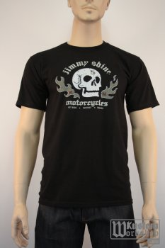 T-shirt Jimmy SHINE Skull and Flames
