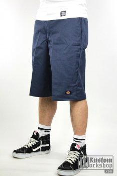Short Dickies 13'' Multi pocket work short bleu clair