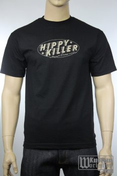 T-Shirt Hippy Killer Garage Oval logo