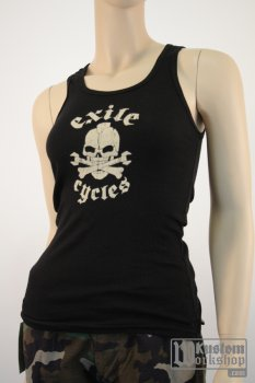 T-shirt Exile Cycles Girl tank top
