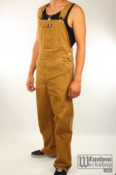 Salopette Dickies Bib Overall Brown Duck