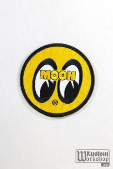 Patch Mooneyes original logo Jaune