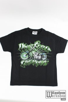 T-shirt kids West Coast Choppers Green Machine