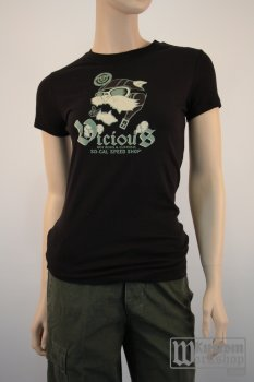 T-shirt So-Cal Ladies Vicious aviator