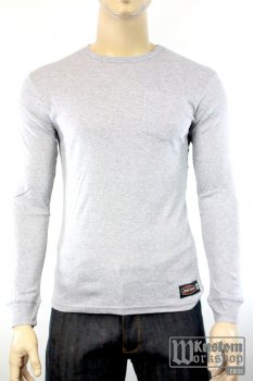 T-shirt manches longues Jesse James Workwear gris