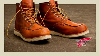 Wing Work Exellence Red Par Chaussure ShoesAmerican Kustom ulKJc3T1F