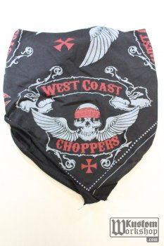 Bandana West Coast Choppers Skulls
