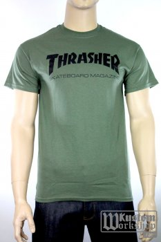 T-shirt Thrasher Skate Army