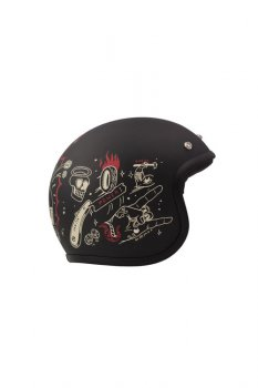 Casque DMD Vintage Born Free
