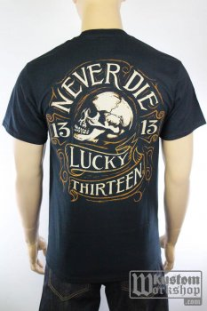 T-shirt Lucky 13 Never Die
