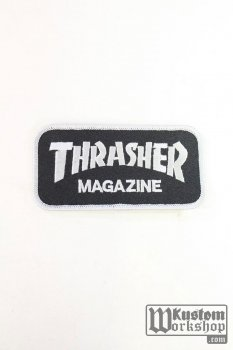 Patch Thrasher Magazine noir