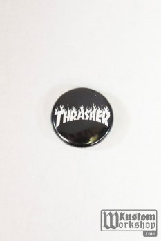 Badge Thrasher Magazine