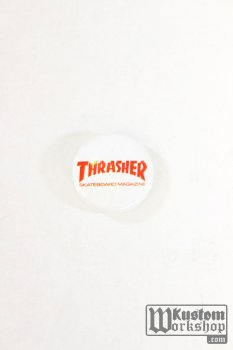 Badge Thrasher Magazine logo rouge