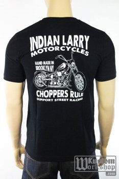 T-shirt Indian Larry Grease Monkey
