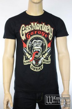 T-shirt Gas Monkey Garage Sparkplugs
