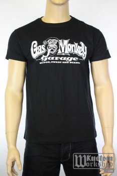 T-shirt Gas Monkey Garage Logo