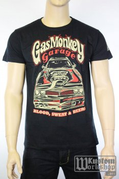 T-shirt Gas Monkey Garage Camaro