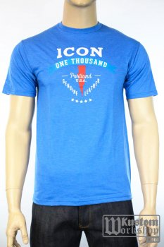 T-shirt Icon 1000 Two Timer bleu
