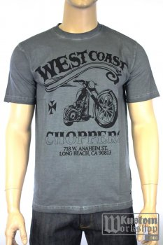 T-shirt  West Coast Choppers Divide & Conquer