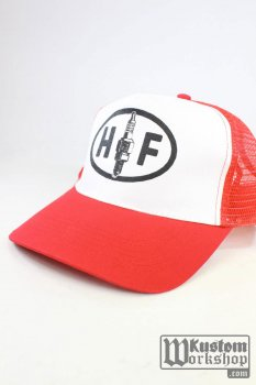 Casquette Holy Freedom trucker red