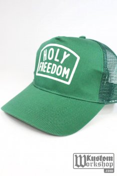 Casquette Holy Freedom trucker green