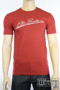 T-shirt original Pike Brothers bordeau