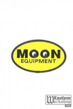 Patch Moon Equipped Oval