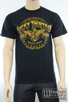 T-shirt Lucky 13 Traditional Speed