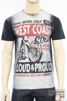 T-shirt  West Coast Choppers The Strip