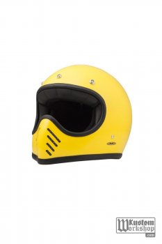 Casque DMD Seventy five jaune