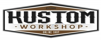 Logo Kustom Work shop boutique custom
