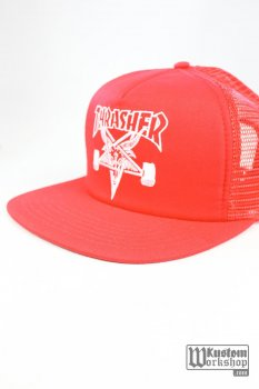 Casquette Thrasher Goat red