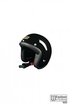 "Casque Jet ""bol"" Origine Noir brillant"
