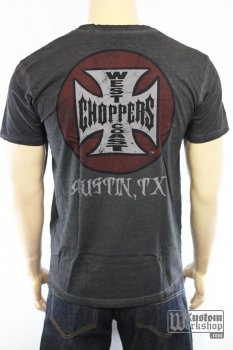 T-shirt  West Coast Choppers Tank logo