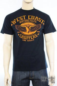 T-shirt  West Coast Choppers Wings Logo