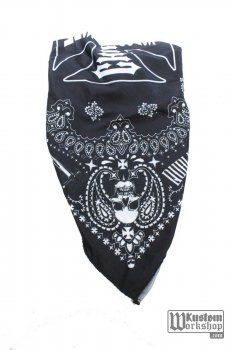 Bandana West Coast Choppers Handcrafted black