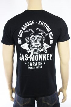 T-shirt Gas Monkey Garage Torch&Hammer