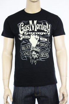 T-shirt Gas Monkey Garage Hand&Spanner