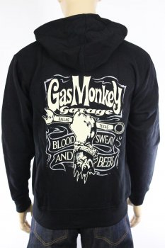 Hoodie Gas Monkey Garage Hand&Spanner