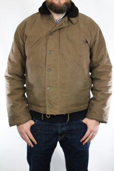 1944 N-1 Deck Jacket Waxed Pike Brothers