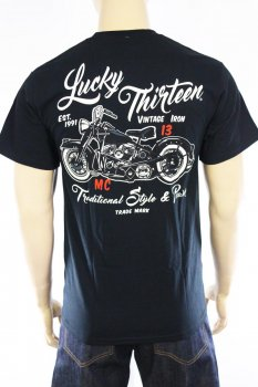 T-shirt Lucky 13 Vintage Iron
