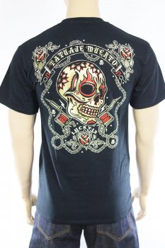 T-shirt Lucky 13 Dead Tattoo