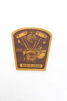 Patch en cuir Loser Machine Shovel
