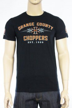 T-shirt Orange County Choppers 99 Pinstripe