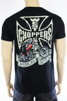 T-shirt West Coast Choppers Chopper Dog