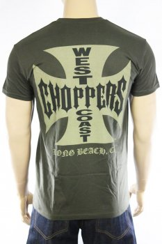 T-shirt West Coast Choppers Original Cross army