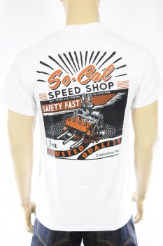 T-shirt So-Cal Speedshop Safety Fast