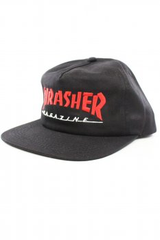 Casquette Thrasher Magazine logo red