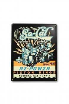 Tin sign So-Cal Re-Power