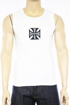 Débardeur West Coast Choppers tank top blanc